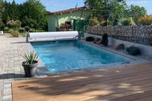piscine en blocs polystyrènes
