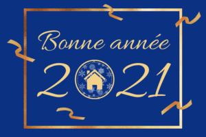 Bonne année 2021 bati-sol concept